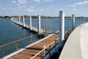 Waterfront Commons Floating Docks