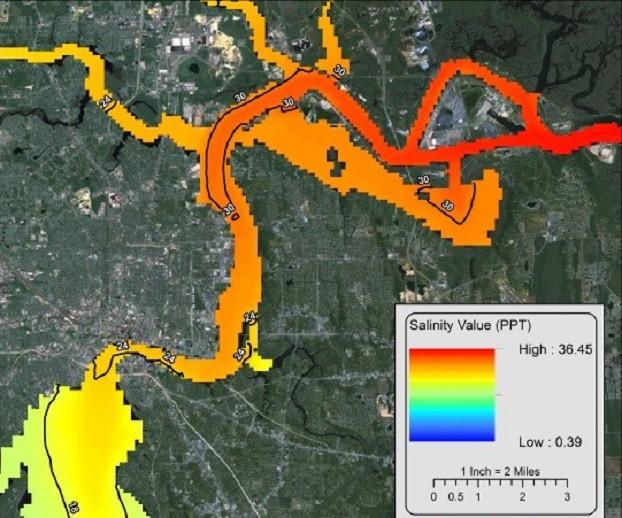 </br>Lower St. Johns River Ecological Modeling<br>